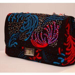 Ankara Stoned Handbags