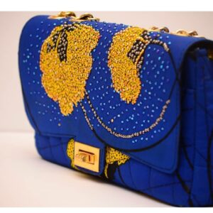 Ankara Stoned Handbag